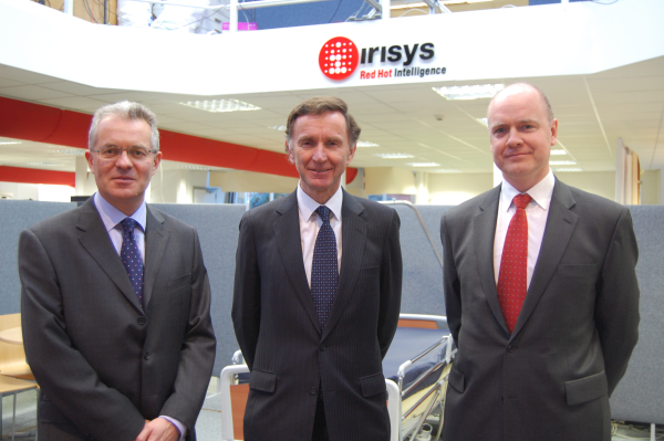 lord green visit to irisys