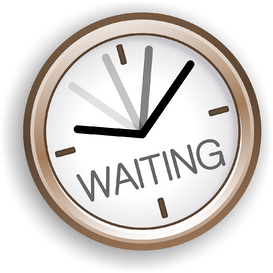 reduce perceived time waiting retail