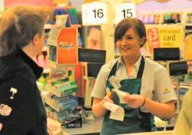 self service vs staffed checkout queues