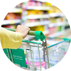 Queue Management system for grocers and supermarkets