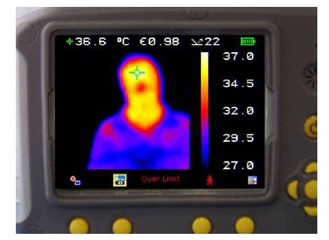 0% Visual image 100% Thermal image