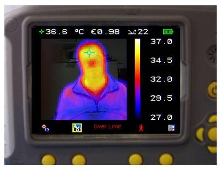 25% Visual image 75% Thermal image