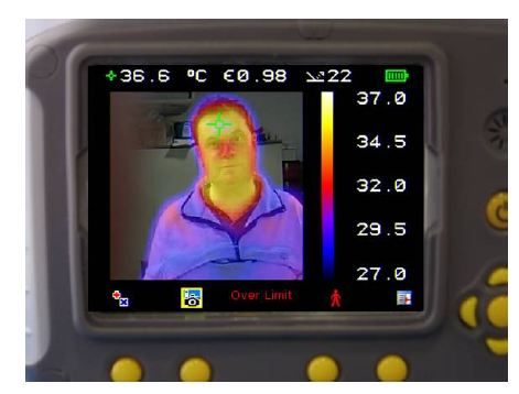 50% Visual image 50% Thermal image