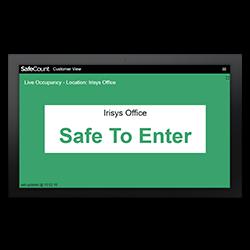 SafeCount Display - IWC6256
