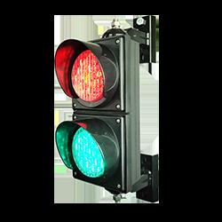 SafeCount Display - Traffic Light