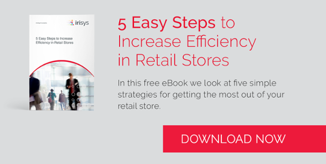 Download this free eBook, 5 Easy Steps to Increase Efficiency in Retail Stores