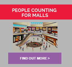 People counting for shopping malls