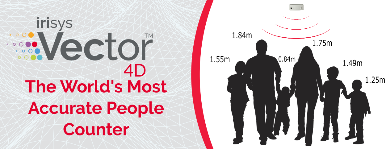 Vector 4D Most Accurate People Counter In The World